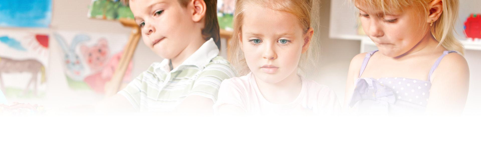 skupione dzieci